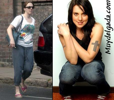 Melanie C gorda y delgada