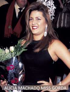 Alicia Machado gorda