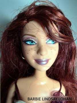 Barbie Lindsay Lohan