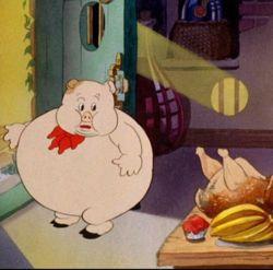 Obesidad en los dibujos animados