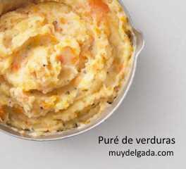 Puré de verduras - Receta vegetariana
