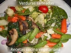 Verduras salteadas